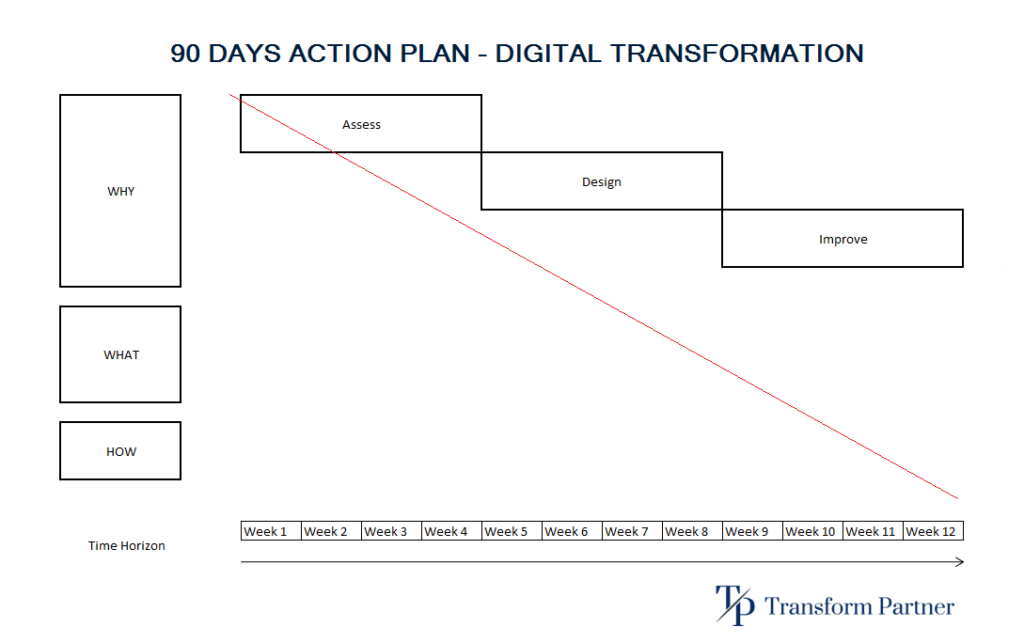 90 Days Action Plan - Transform Partner